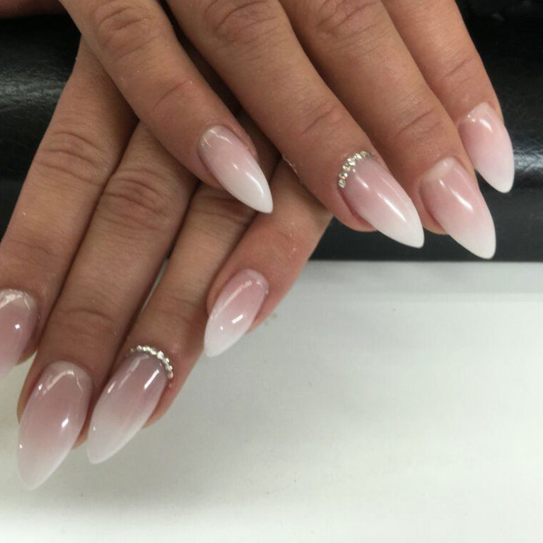 French, Nails, Nagel, Nageldesign