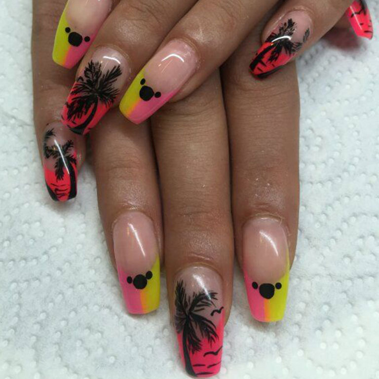 Nails, Nagel, Nageldesign, Dream, Airbrush