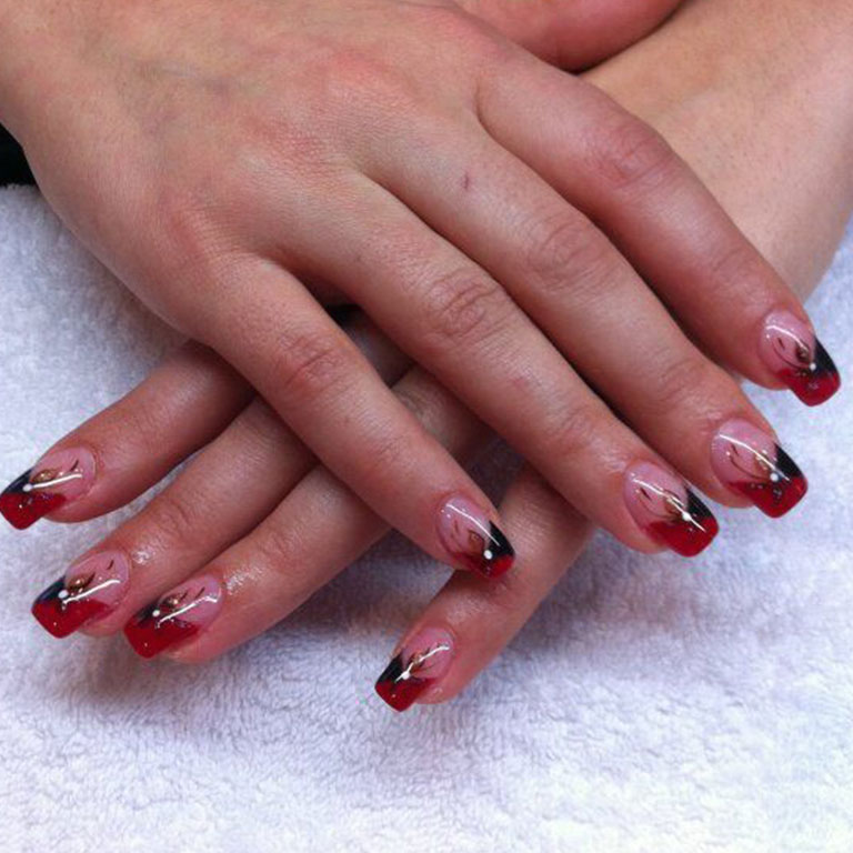 French, Nails, Nagel, Nageldesign, Gel,  Dream